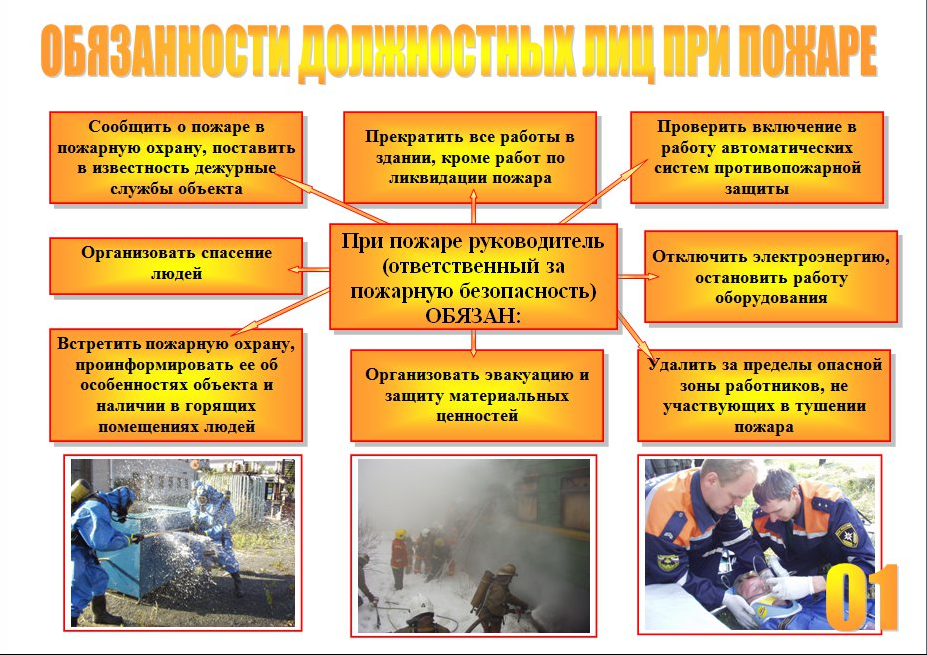 мероприятия по организации пожарной безопасности они